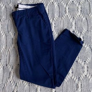 J. Crew - Cafe Capri Chinos - Royal Blue - Size 00